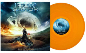 The Landing Clear Orange Vinyl